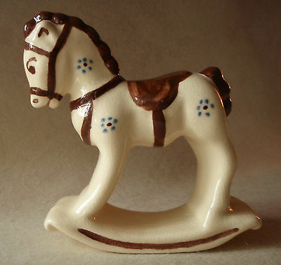 "Vintage ""ROBERT SIMMONS POTTERY"" Rocking / Hobby Horse Figure"