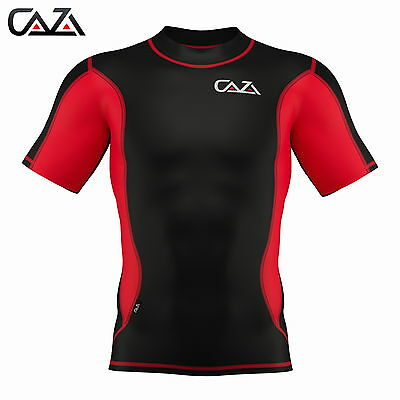 Men Compression Shirt  Sports  Short Sleeve T- Shirts  Base Layer Shirt
