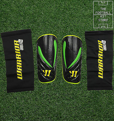 Warrior Football Shin Pads / Guards - With Guard Sleeve / Stay - Boys / Mens