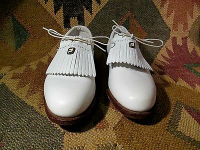 New  Vtg Classics By Footjoy Golf Shoes Style 91538 H9 Size 7 B Made In Usa
