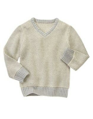 NWT Boy/'s Gymboree Sweater Weather blue striped sweater ~ 4 5 6 7 FREE SHIPPING