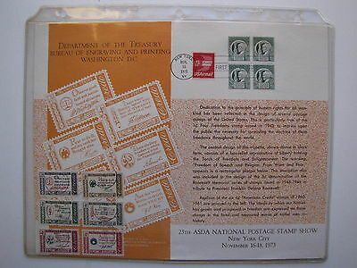 USA FIRST DAY OF ISSUE COVER 1973 AIRMAIL Plus 1960-61  SC# 1139-1144 (set of 6)