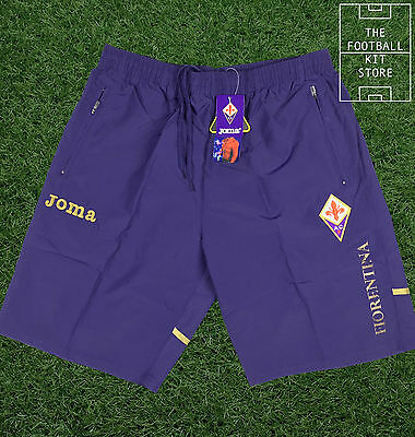 Fiorentina Training Shorts - Official Fiorentina Joma Shorts - Mens - All Sizes
