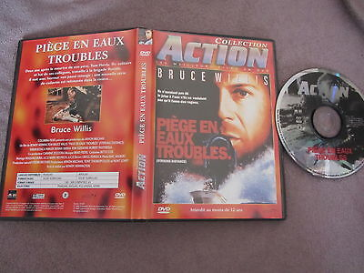 Piège en eaux troubles de Rowdy Herrington avec Bruce Willis, DVD, Action