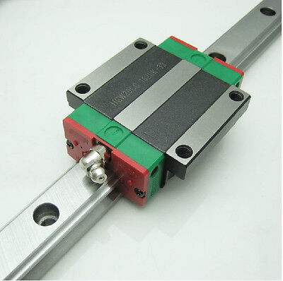 "15 Linear Guided Block Bearing and Rail 59"" (2 Bearings + 1 Rail)"