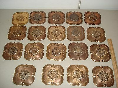 19 Vintage Copper Wall Plaques Wall Hangings Decoration