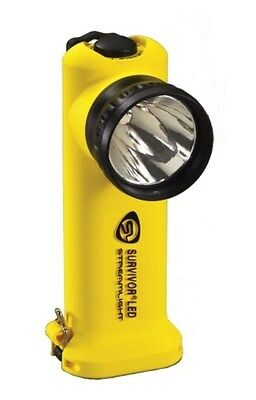 New Authentic Streamlight Survivor Yellow Flashlight LED Car Fast Charger DC 905