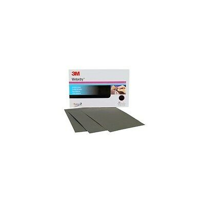 3M 02044 Wet or Dry Ultrafine Sheets 5-1/2 in x 9 in 2000 Grit- 50 Sheets Pack