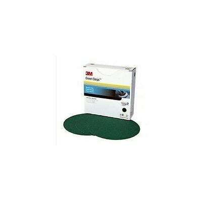 3M Green Corps Sanding Disc 31550 40 grit 8 in