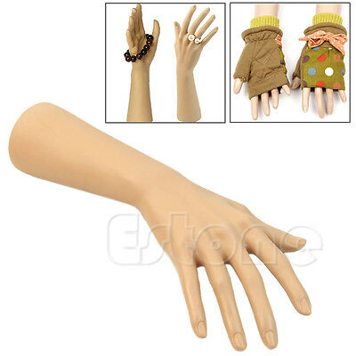 1Pc Fake Mannequin Hand Model Nail Art Watch Ring Bracelet Gloves Display Stand