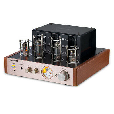 Nobsound MS-10D Tube Amplifier Audio HiFi Stereo Headphone amp Bass&Treble 50W