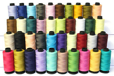 Cotton Sewing Thread 40 Spools Mix of Dark & Light Colours