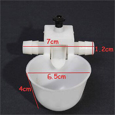 10pcs Drinking Chicken Bird Poultry Automatic Water Watering Cup Feeder Drinker
