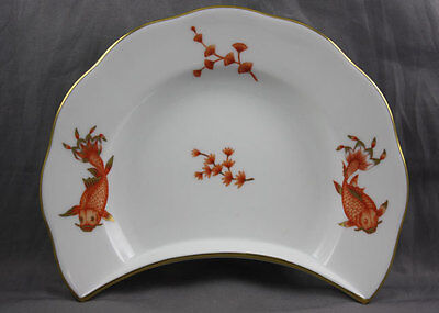 Herend China Poissons Koi Fish Rust Side Salad Sold Individually