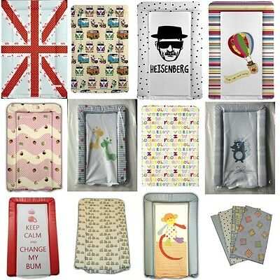 Deluxe Quality Vinyl Padded Baby Changing Mat. Many Designs. Boy/Girl Made In UK