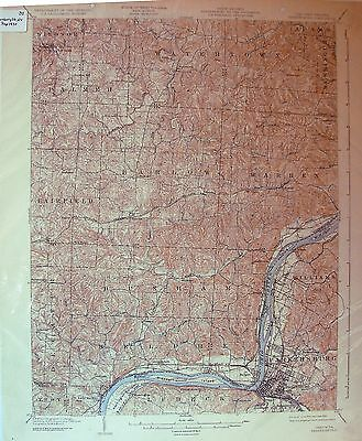 USGS 15' Parkersburg, WV-OH 1904 edition