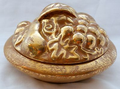 Stangl Pottery - Granada Gold 5180 - Covered Candy Dish / Box - ~MINT~