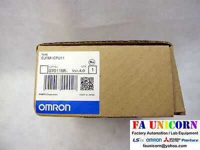 [Omron] CJ1M-CPU11 Ver 4.0 CPU Unit Omron PLC New Unused EMS/UPS Fast Shipping