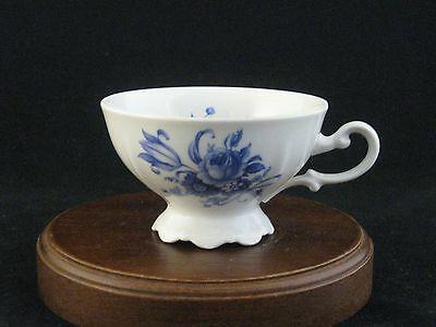 "Mitterteich ""Meissen Blue"" Fine Porcelain Tea Cup Made in Germany"