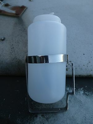 Land Rover Series Suitable Classic Windscreen Washer Bottle & Stainless Bracket