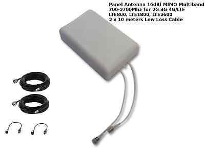 MIMO Mobile Broadband Antenna Aerial Signal Booster Huawei E3272 LTE 4G 3G CRC9