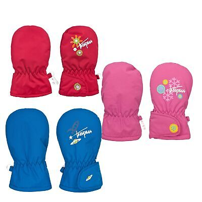 Trespass Scamp Boys Girls Waterproof Gloves Baby Lightly Padded Winter Mittens