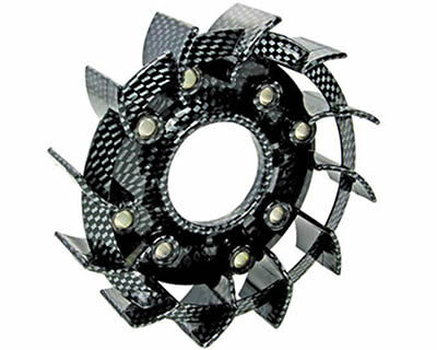 Direct Bikes DB50QT-11 50cc  Flywheel Cooling Fan Carbon