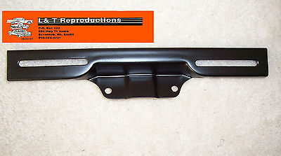 1957 Chevy Front License Bracket Sedan Hardtop Wagon Nomad Convertible Belair
