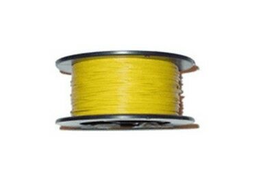 UL1007-4-1000 Hook-up Wire Solid 22 GAUGE YELLOW 1000 Feet-Made in USA