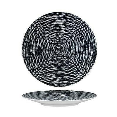 4x Round Coupe Plate, Storm, 275mm, Luzerne 'Zen', Commercial Quality