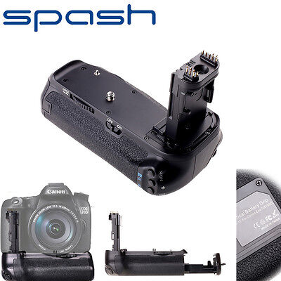 For Canon 70D 80D Battery Grip Holder DSLR Camera Work With LP-E6 Battery BG-E14