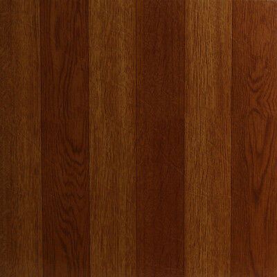 60 x Vinyl Floor Tiles - Self Adhesive - Bathroom Kitchen, BNIB, Oak Wood 311698