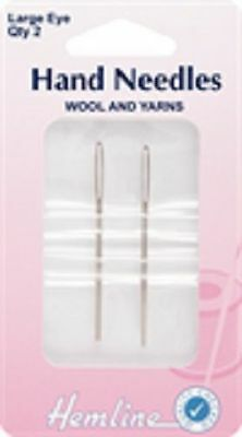 Hemline Hand Sewing Needles Tapestry,Beading,Quilting,Embroidery,Darners etc