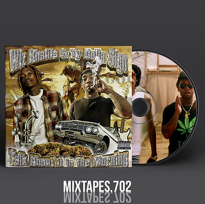 Ty Dolla $ign Wiz Khalifa - Talk About It In The Morning Mixtape (CD/Front/Back)