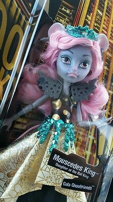 Monster High Boo York Mousecedees King Doll ***IN-STOCK***