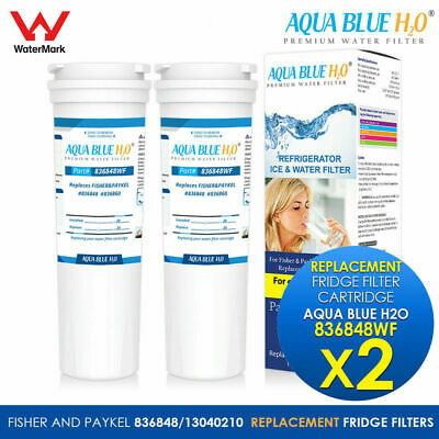 2X  FISHER AND PAYKEL FRIDGE FILTER 836848 836860 Replacement  Water Filter
