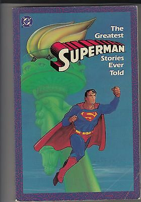 The Greatest Superman Stories Ever Told Fiftieth Anniversary Celebration 1987