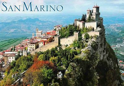 SAN MARINO TRAVEL SOUVENIR FRIDGE MAGNET #fm258