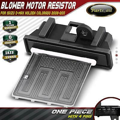 Blower Motor Heater Fan Resistor for Isuzu D-Max Holden Colorado 2008-2011