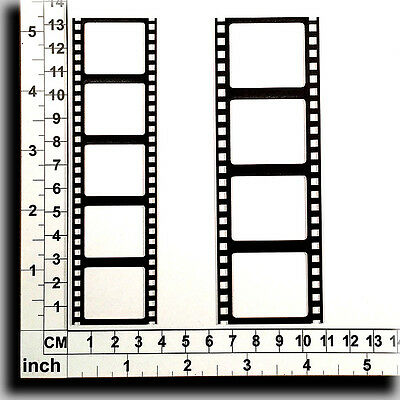Chipboard Embellishments for Scrapbooking, Cardmaking - Film Strips 61233b