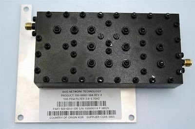 Axis Network RF Microwave BandPass Filter BPF 3.6-3.7GHz SHF Wimax TESTED