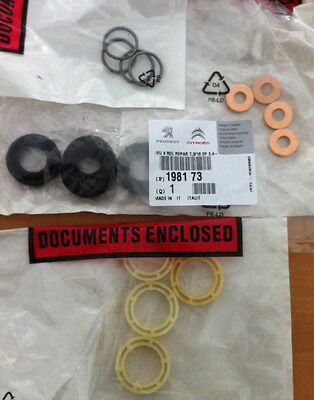Genuine Peugeot 207/307 1.6 HDi Injector Washer Seal and Protector (SET 4)