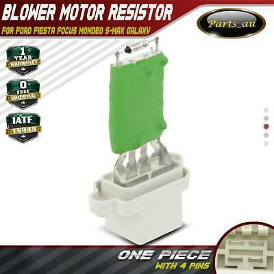 Blower Motor Heater Fan Resistor for Ford Fiesta Focus Mondeo S-Max Galaxy