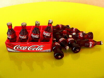 CUTE SOFT DRINK AND TRAY SET DOLLHOUSE MINIATURE BEVERAGE COLLECTIBLES SOUVENIR