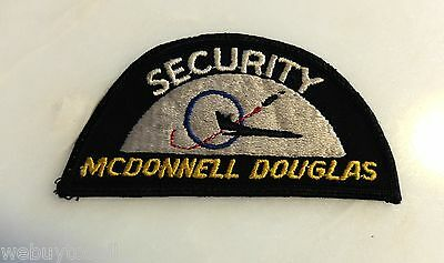 Rare Vintage McDonnell Douglas Aircraft Police Security Patch
