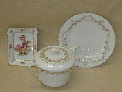 Schumann, KPM, & CT China Pieces from Germany--Wild Rose Pattern
