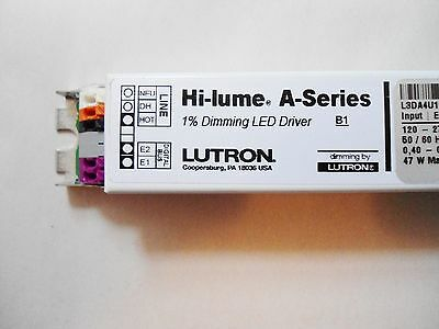 """LUTRON Hi-lume LED Driver - 1% dimming - A Series ($75ea. """"contractor price"""")"""