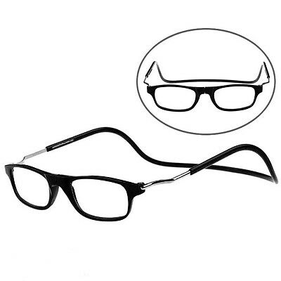 Magnetic Power Reading Glasses Folded Hanging +1 +1.5 +2 +2.5 +3 +3.5 +4.0 BLS