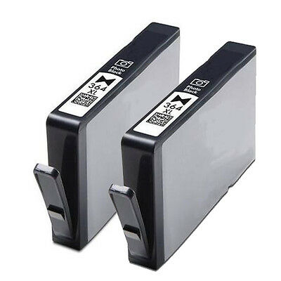 2 Non-OEM Replaces For HP 364 XL Photo Black Ink Cartridges