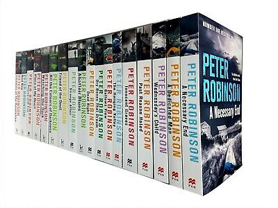 Peter Robinson Collection The Inspector Banks series 12 Books Set Gallows View